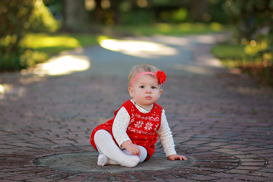 Tampa Christmas Portraits by Dana Nicole Photography - 3 University of Tampa children
