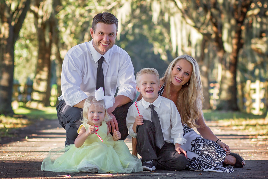 Tampa family photography Dana Nicole Photography family of four