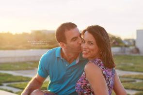 Tampa Engagement at Curtis Hixon Park | Dana Nicole Photography