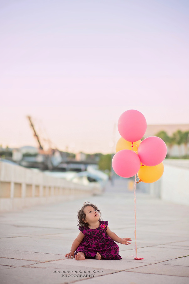 Tampa Child Photographer| First Birthday Portraits | Dana Nicole Photography