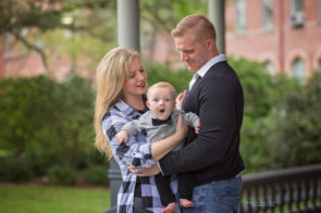 Tampa Family Photo Session at UT | Family of 3 poses | Dana Nicole Photography, Tampa, FL