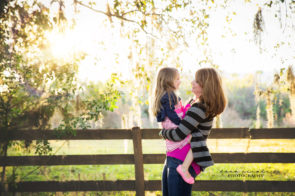 Family Photo Session at Tree Lined Road in Lutz, FL | Dana Nicole Photography | Tampa, FL