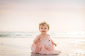 One Year Old Photo Session at Honeymoon Island in Dunedin | Dana Nicole Photography | Tampa, FL