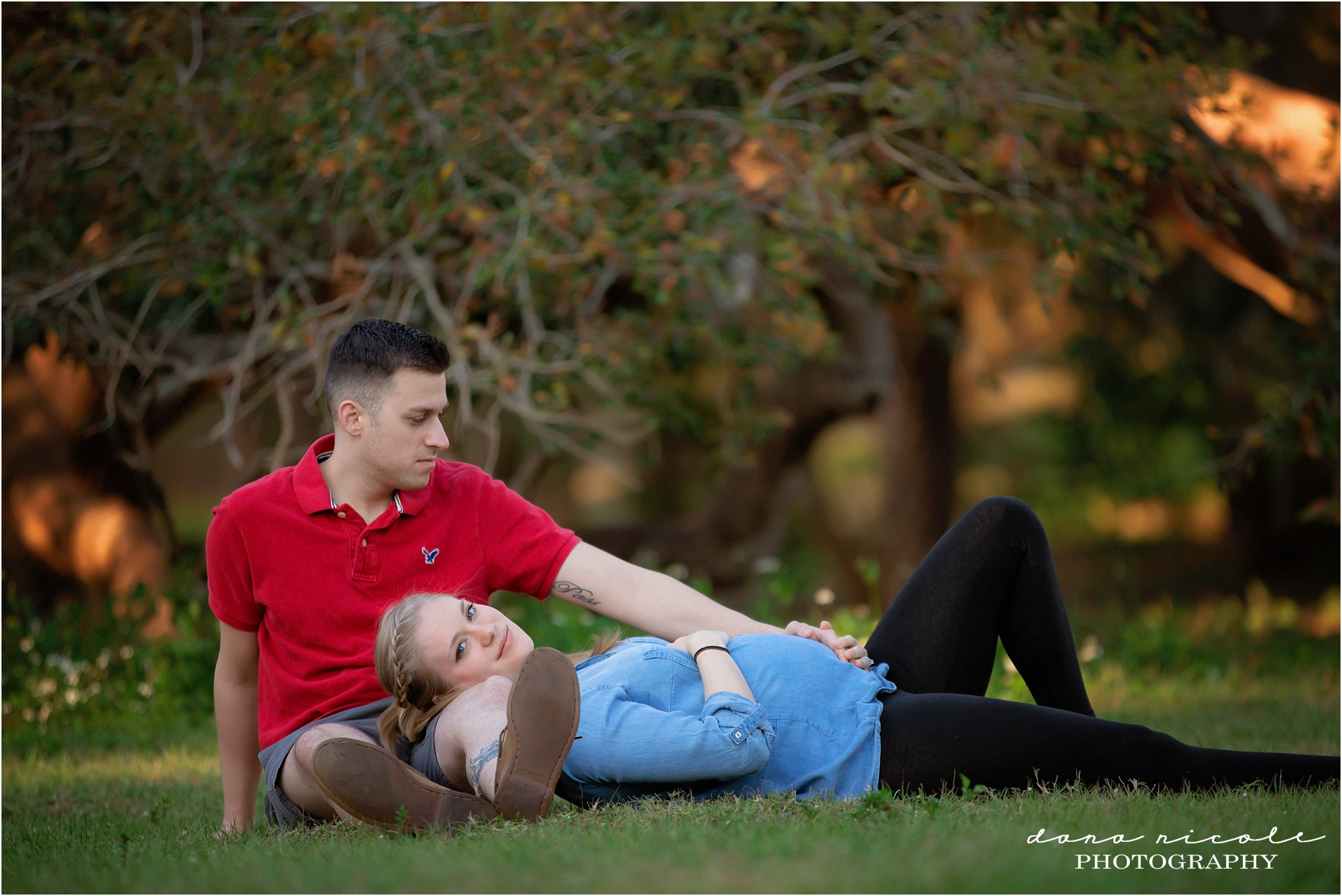 Maternity Session at Philippe Park in Safety Harbor | Dana Nicole Photography | Tampa, FL