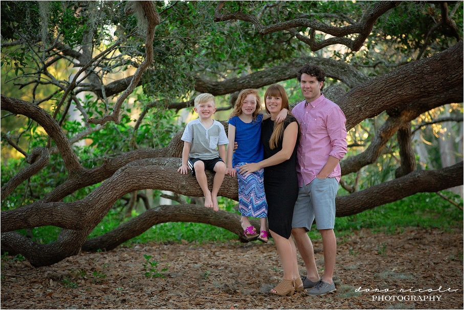 Family Session at Philippe Park in Safety Harbor | Dana Nicole Photography | Tampa, FL