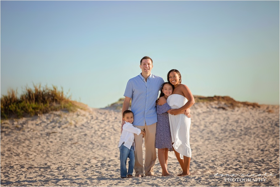 Family Session at Fred Howard Park in Tarpon Springs | Dana Nicole Photography | Tampa, FL