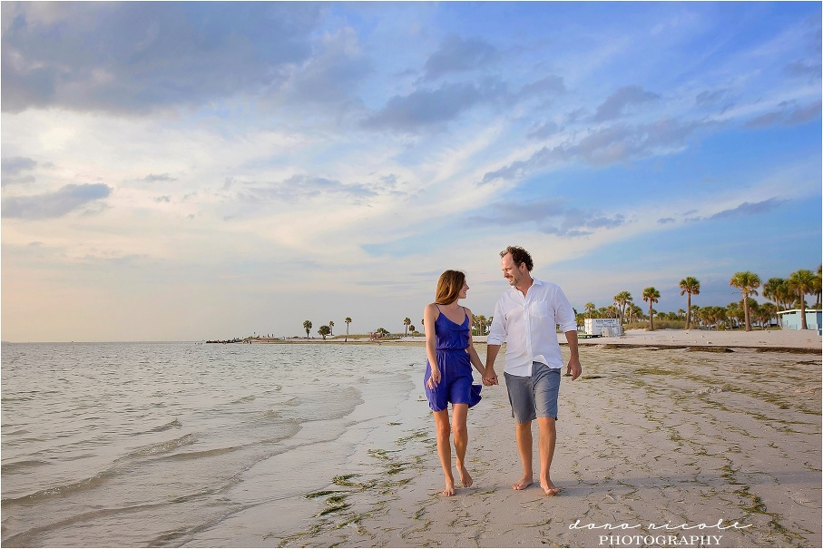 Tarpon Springs Photographer at Fred Howard Park | Dana Nicole Photography | Tampa, FL