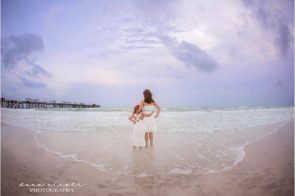 Tampa Beach Photographer at Redington Beach Pier in St. Pete | Dana Nicole Photography | Tampa, FL