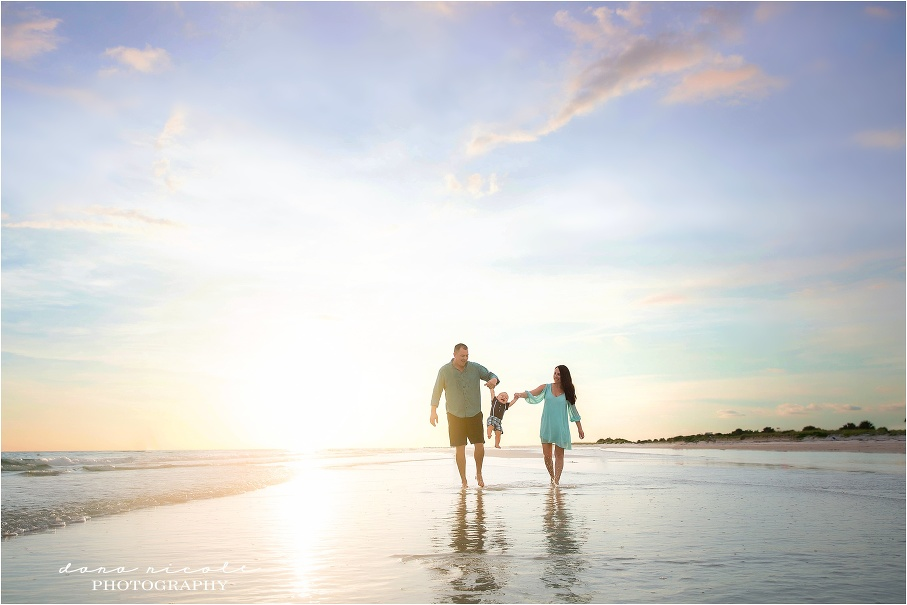 Tampa Child Photographer at Honeymoon Island in Dunedin | Dana Nicole Photography | Tampa, FL