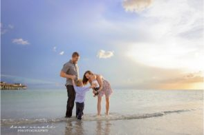 Tampa Family Photographer at Redington Beach Pier in St. Pete | Dana Nicole Photography | Tampa, FL