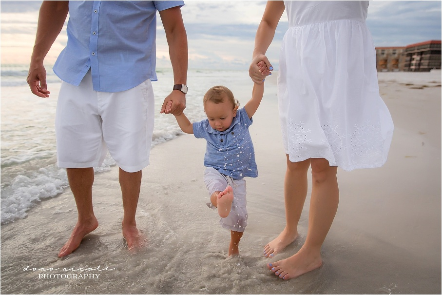 St. Pete Family Photographer at Redington Beach Pier in St. Pete | Dana Nicole Photography | Tampa, FL