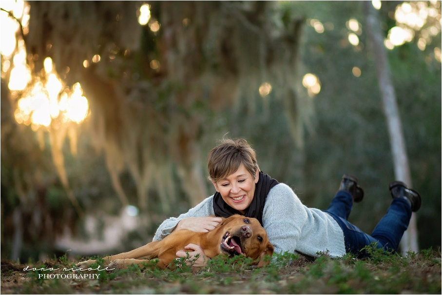 Tampa Pet Photographer at Philippe Park in Safety Harbor  Dana Nicole Photography   Tampa, FL