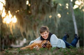 Tampa Pet Photographer at Philippe Park in Safety Harbor Dana Nicole Photography | Tampa, FL